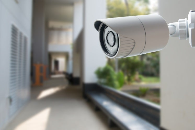 a security camera, which burglar breaking into a home, which The Best Home Security Systems in 2020 contain
