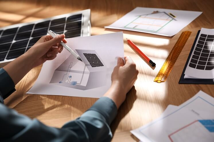 planning different types of solar panels