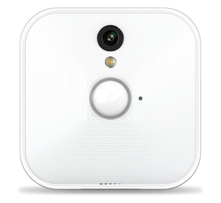 a blink indoor security camera