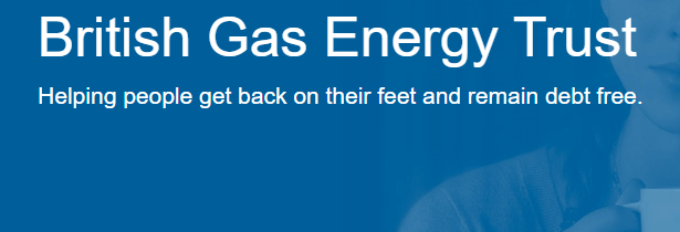 free boilers from British Gas Energy Trust