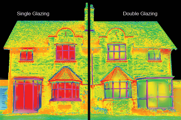 Thermal Photo Of House