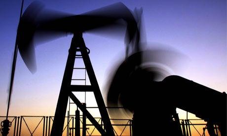 digging for oil