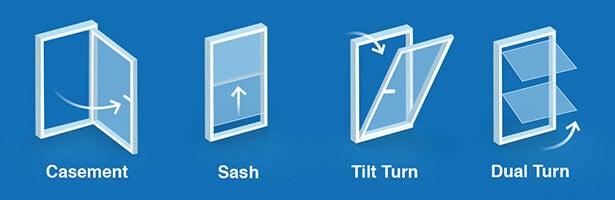 best double glazing window styles