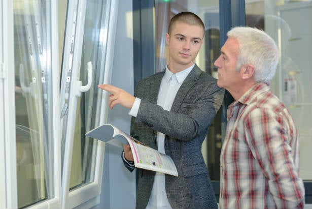 Helping a customer get cheap double glazing