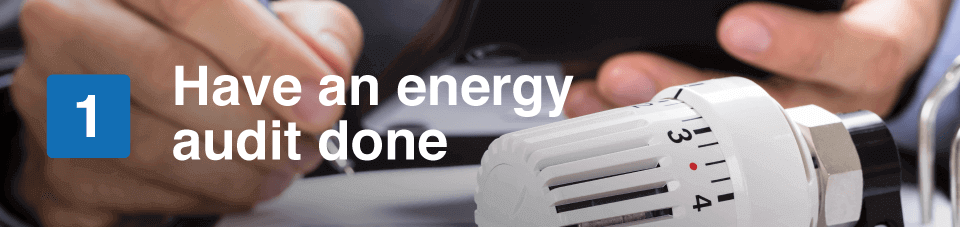 have an energy audit done
