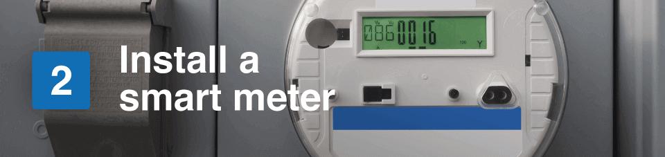 install a smart meter