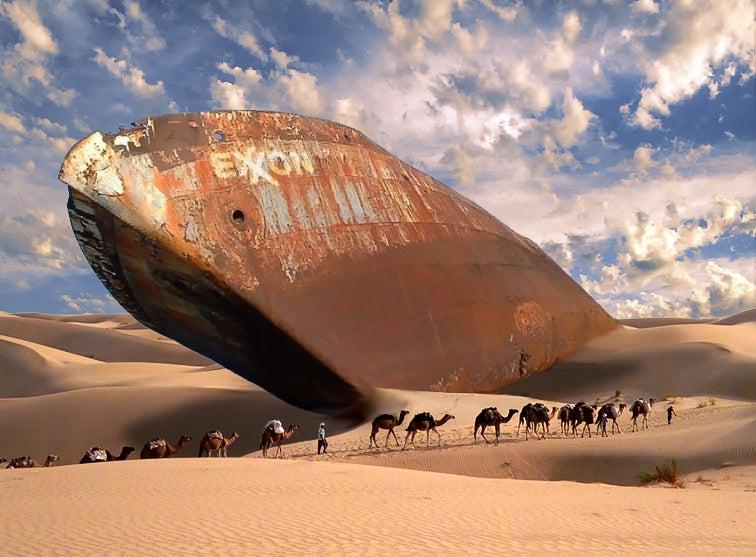 Rockefeller Oil Ship