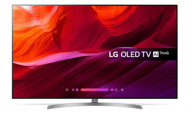 a smart TV called the LG OLED65B8SLC 65-Inch