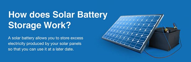 what is solar battery storage