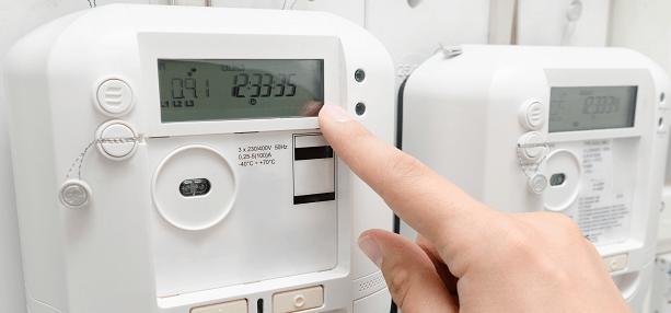 solar panel meter