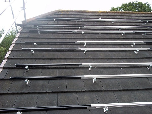 Solar panel mountings