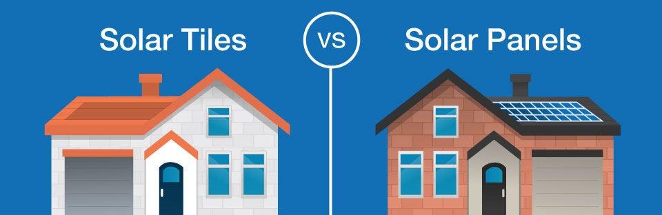 solar tiles vs solar panels