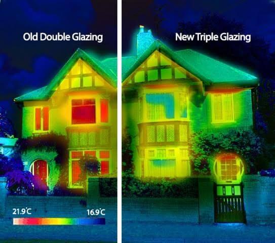 Triple Glazing Comparison Against Double Glazing
