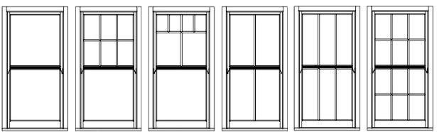 upvc sash window styles