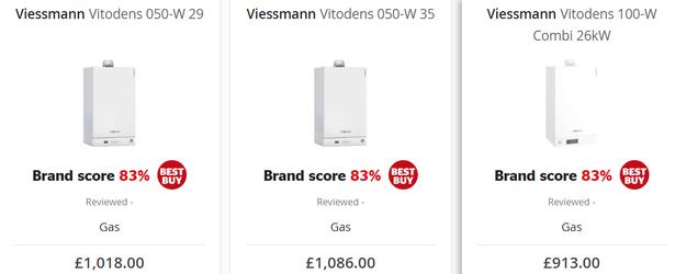 viessmann boiler reviews