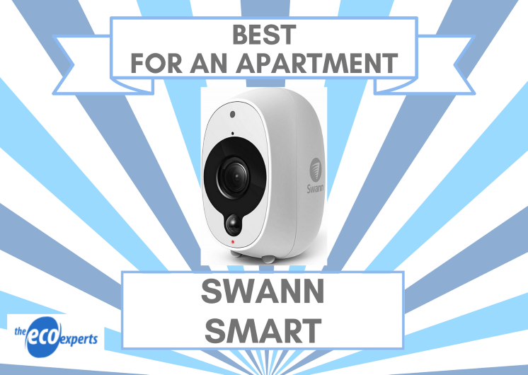 The best smart camera for an apartment, a Swann Smart