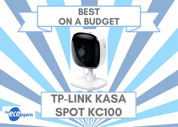 The best smart camera on a budget, the TP-Link Kasa Spot KC100