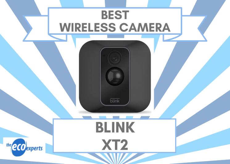 The best smart wireless camera, the Blink XT2