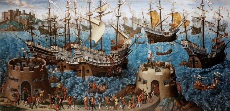 King Henry VIII's voyage to the Field of the Cloth of Gold