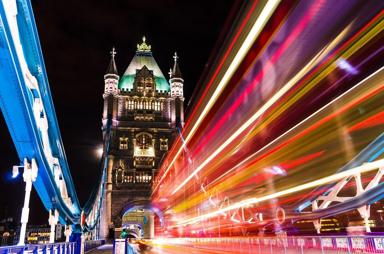 London busy traffic