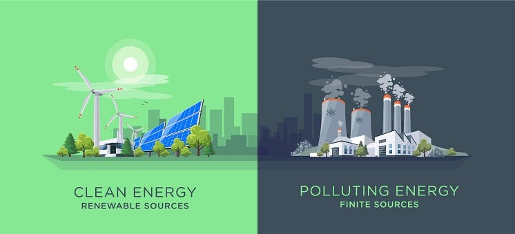 renewables vs fossil fuels