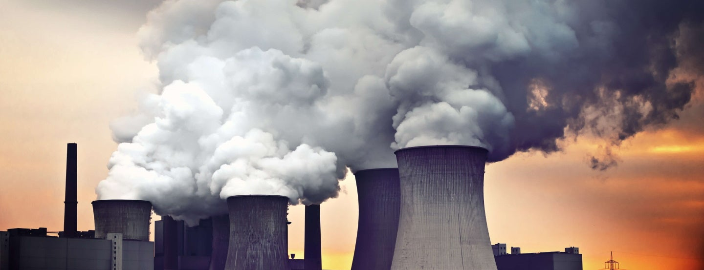 power plants in germany pollute the atmosphere