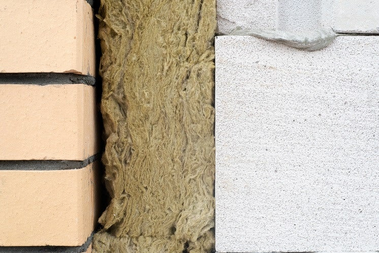 wool insulation in cavity wall