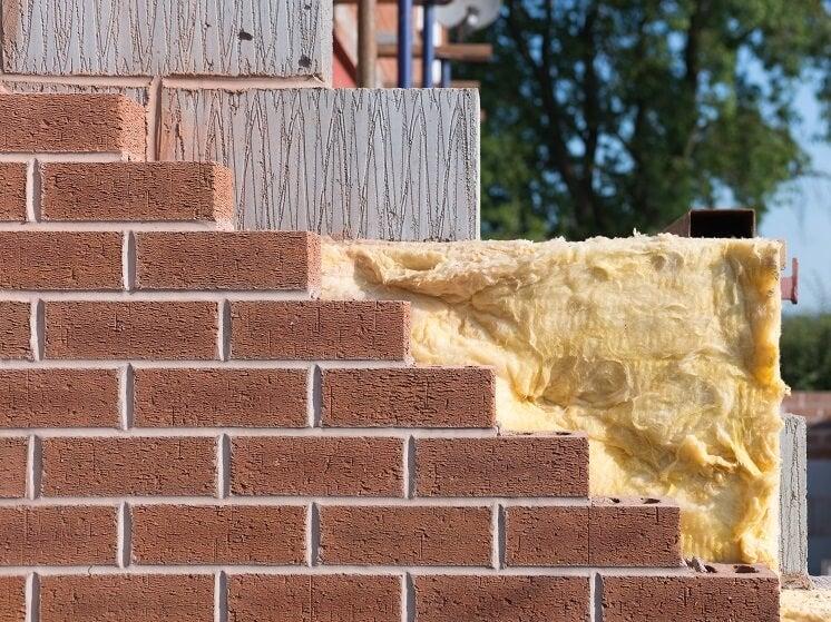 insulation inside a cavity wall