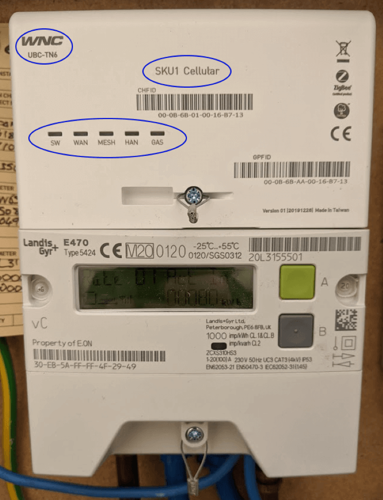 a SMETS2 smart meter
