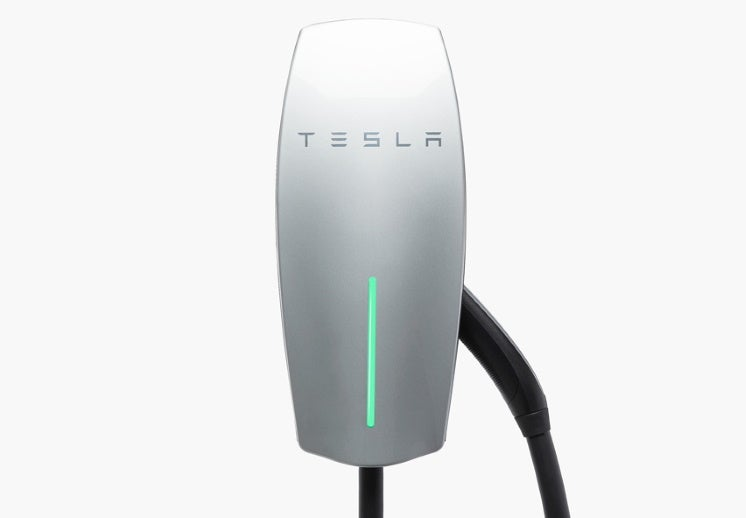 a tesla ev charger