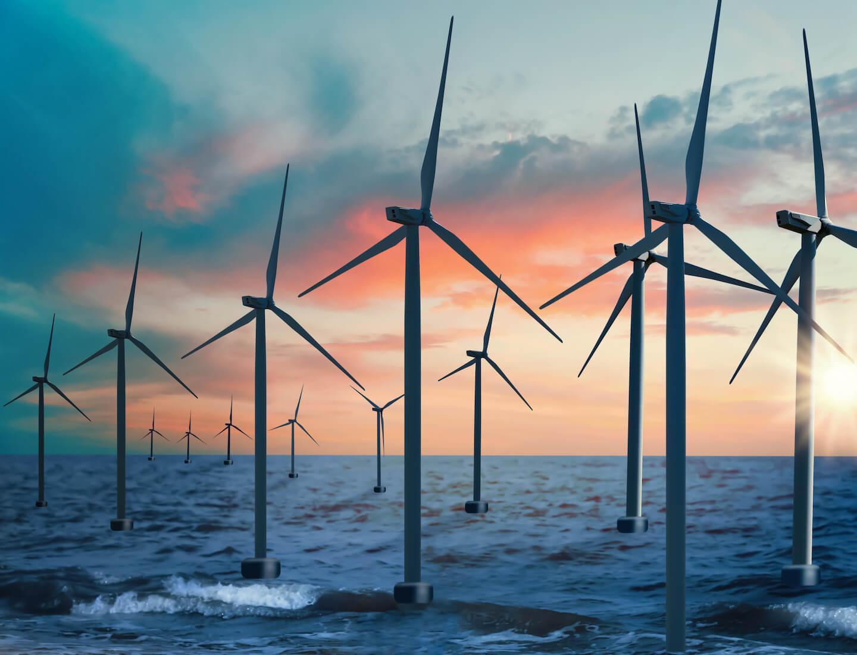 offshore wind turnbines