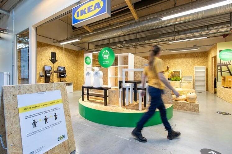 ikea second-hand shop
