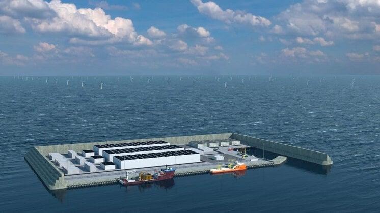 Danish energy island