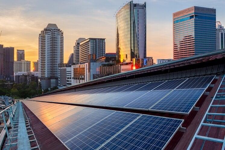 solar panels for company